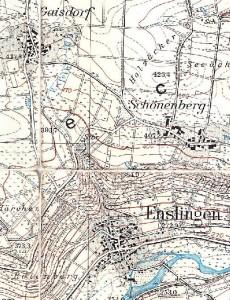Topographiche Karte 6824